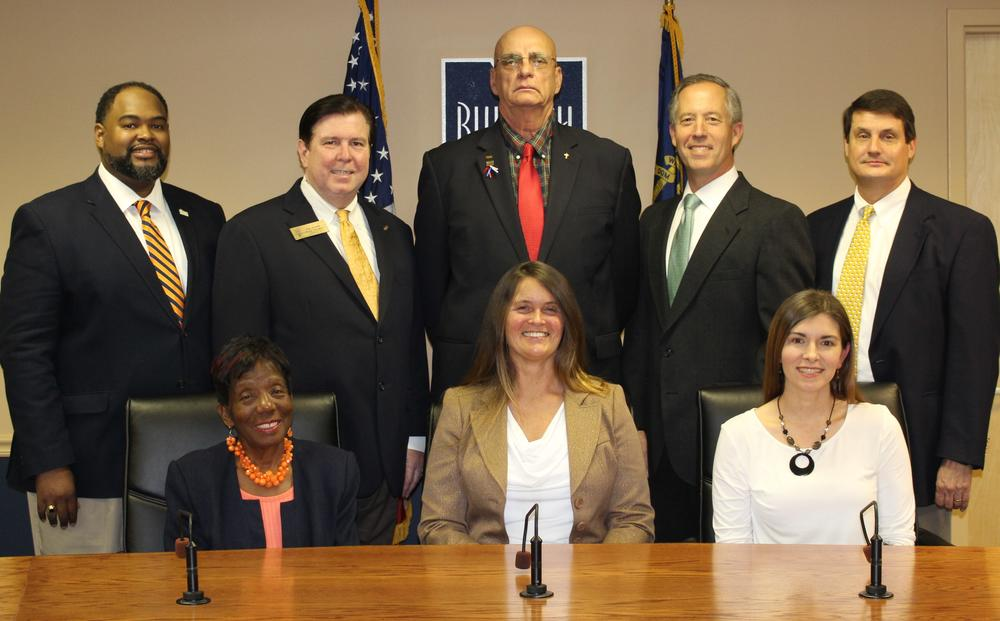 Board of Education members for 2017