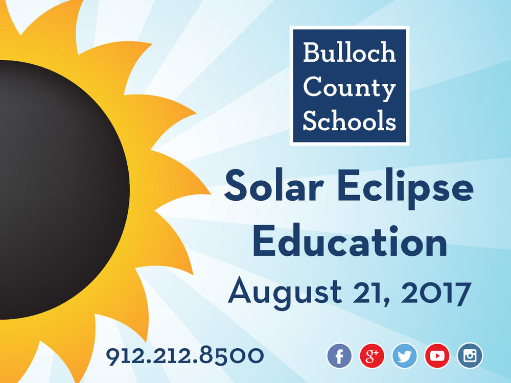 Solar Eclipse Education Graphic