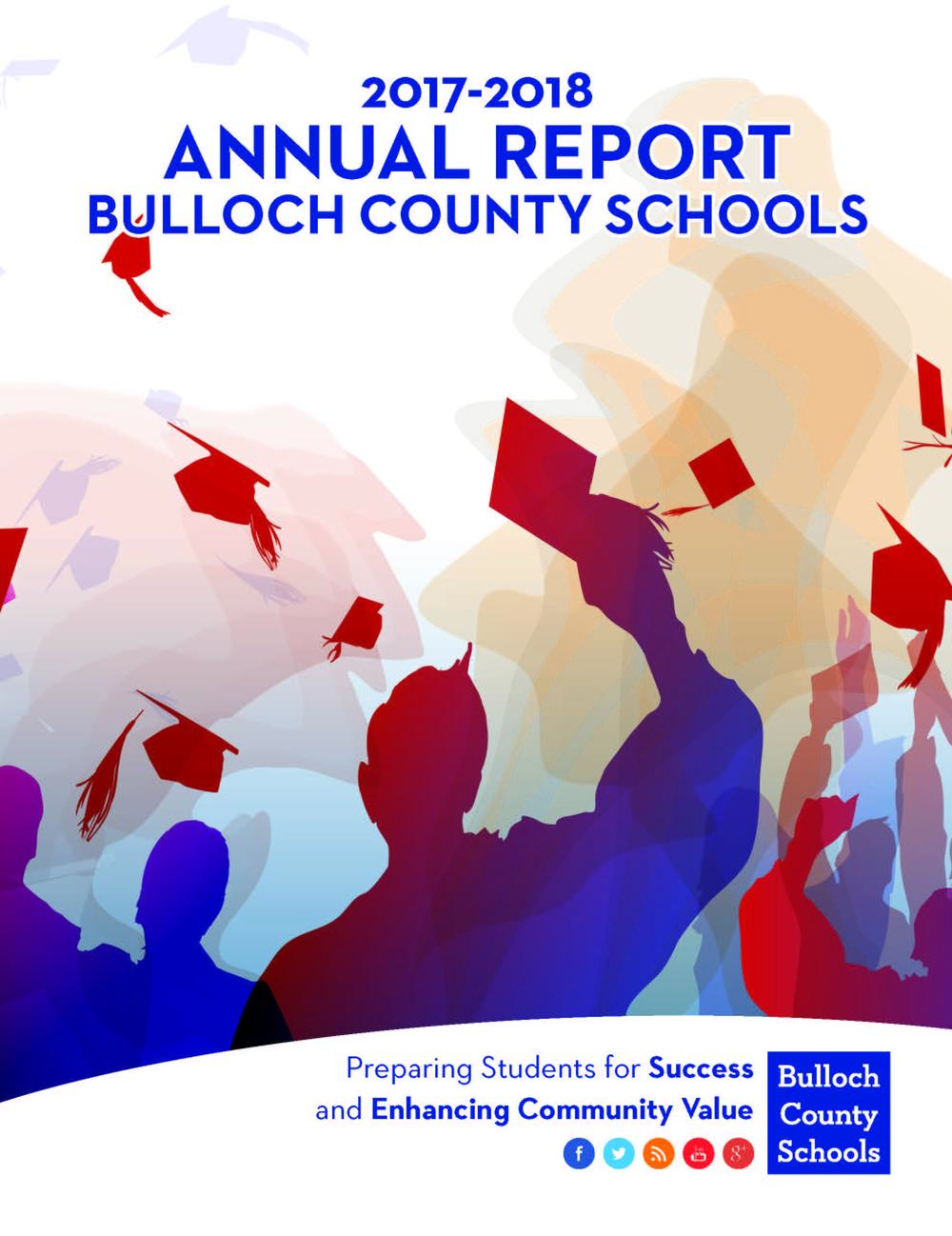 Bulloch County Schools Annual Report Cover