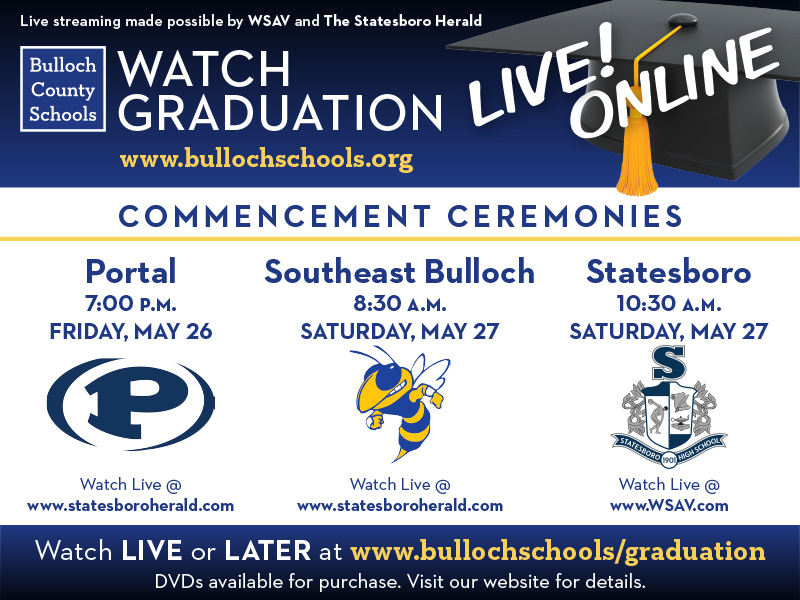 Commencement Ceremonies Advertisement